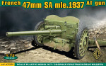 S.A. mle 1937 French 47mm anti-tank gun
