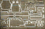 Photo-etched set Iliushin IL-2 М3, for Toko kit