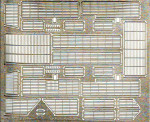 Photo-etched set slat armor for BTR-70, for ACE kits