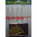 90 mm gun Ammo (for US M26, M36, M46)