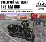 TIZ-AM-600 Soviet motorcycle