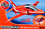 RAF Red Arrows Hawk (Lego assembly)