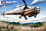 Helicopter Sikorsky R-5/S-51