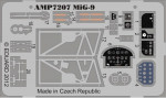Photoetched set for MіG-9, ART Model kit