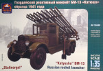 Russian rocket launcher BM-13