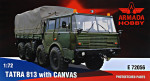 Tatra 813 truck with canvas (resin kit + pe)