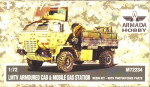 LMTV armored cab & Mobile gas station (resin kit & PE set)