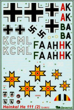Heinkel He-111 decal (part 2)