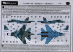 Decal Sukhoi Su-34