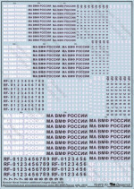 Decal: Russian naval aviation insignia, type 2010