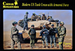 Modern US Tank Crews with Armored Force
