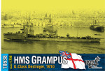 HMS Grampus (G-Class) Destroyer, 1910