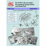 Mask for Do 217N-1 ICM kit