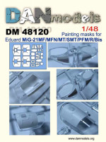 Mask for MiG-21 for Eduard kit