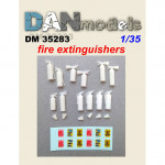 Accessories for diorama. Fire extinguishers, 12 pcs