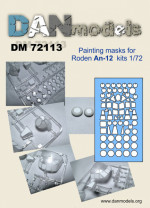 Mask for An-12 for Roden kit