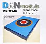 Display stand. United Kingdom theme, 180x240mm