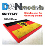Display stand. Germany theme, 180x240mm
