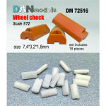Wheel chocks, set  #7 - 18 pcs