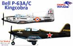 "Bell P-63A/C ""Kingcobra"""