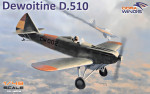 Dewoitine D.510 Spanish civil war