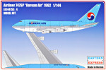 "Airliner 747SP ""Korean Air"" 1992"