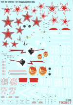 Decal for Yak-9, red warhorses