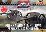 Polish Field Canone 75mm wz. 1897 Schneider, 2pcs (Snap fit)