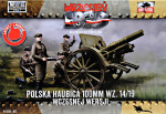 Polish howitzer 100mm wz. 14/19 (Snap fit)