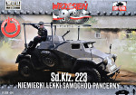 Sd.Kfz. 223 light armored car (Snap fit)