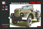 GAZ-69 Soviet cross-country vehicle