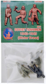 Soviet tankmen (Winter Dress) 1943-1945, set 2
