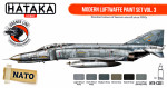 Modern Luftwaffe paint set vol.3, 6 pcs