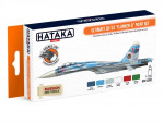 "Paint Set Ultimate Su-33 ""Flanker-D"", 6 pcs"