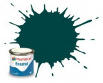 Alkyd enamel paint Humbrol, british racing green (Gloss), 14 ml