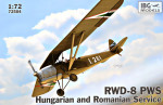 RWD-8 PWS Hungarian and Romanian service