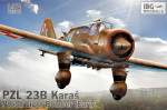 PZL.23B Karas early Polish Light Bomber Plane