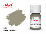 Acrylic paint ICM, Grey Green 12ml