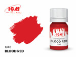 Acrylic paint ICM, Blood Red, 12ml