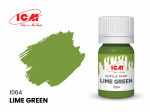 Acrylic paint ICM, Lime Green, 12ml