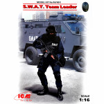 S.W.A.T. Team Leader (100% new molds)