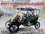 Ford T 1911 Touring with american motorists