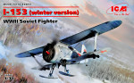 I-153, WWII Soviet Fighter (winter version)