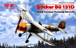 Bucker Bu 131D, German training aircraft, WWII