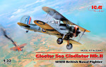 Gloster Sea Gladiator Mk.II , WWII British Naval Fighter