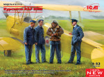 WWII RAF Cadets (4 figures)