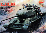 T-34-85 with Soviet Tank Riders