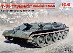 "T-34 ""Tyagach"" Model 1944, Soviet Recovery Machine"