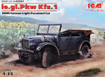 German Light Personnel Car le.gl.Einheits-Car Kfz.1, (WWII)