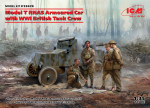 Model T RNAS Armoured Car with WWI British Tank Crew
